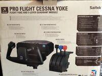 Saitek flight simulator
