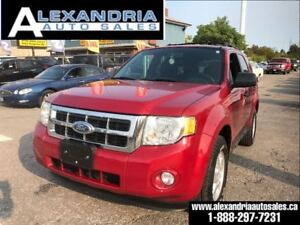 2010 Ford Escape XLT V6 145km safety included