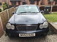 Mercedes kompressor c180 cheap £699