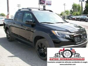 2017 Honda Ridgeline BLACK EDITION 4X4 STATUT IRRECUPERABLE