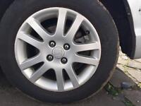 ALLOY WHEELS HONDA CIVIC 2004
