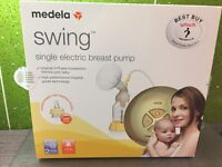 Medela swing single electric breast pump... excellent condition with all parts and manual