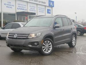 2013 Volkswagen Tiguan 4Motion|Panoramic sunroof| Heated leather