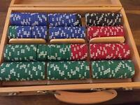 Good quality Bicycle poker chips