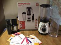 Morphy Richards easyblend and juicer