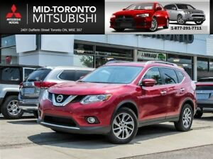 2015 Nissan Rogue SL Leather|Sunroof|Navigation|Back