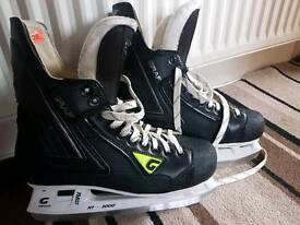 Graf ice boots size 10