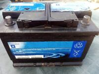 Genuine GM Car Van 70 AH Battery