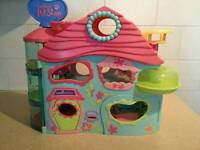 Littlest pet shop playhouse