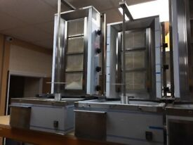 CATERING COMMERICAL BRAND NEW GAS SHAWARMA COMMERCIAL DONER KEBAB CATERING GRILL CUISINE MACHINE BBQ