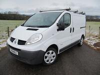Renault Trafic Van 2011 ROOFRACK ~ SAT NAV ~ 115 BHP VGC only £6250 INCLUDES VAT @ 20%