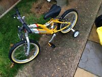 Hardly used kids bike