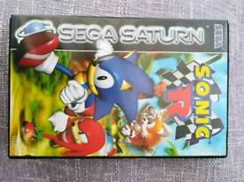 Sega saturn game sonic r