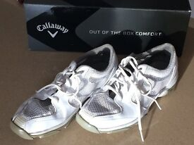 Ladies Callaway Solaire Breathable Golf Shoes 7.5 Size