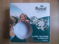Royal Classic Melamine - 16 Piece Set