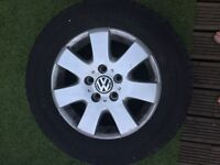 """Vw 16"""" transporter alloys and tyers"""