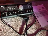 Mackie Big Knob Studio Command System/Monitor Control/Talkback Unit In Brand New Condition