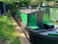 37ft Narrow Boat with London Mooring