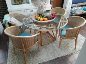 Rattan conservatory furniture. Made in Italy.