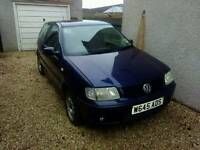 VW polo 88000 miles W reg