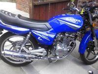 Sanya 125cc motorcycle