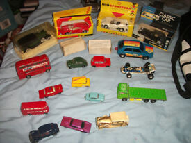 large collection of vintage cars,all in vg condition and some very rare