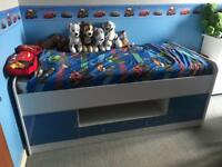 Blue Cabin Bed - Bed Frame Only!