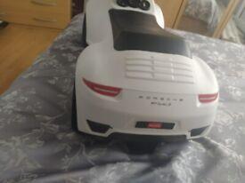 Ride on Porsche