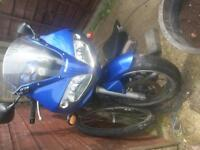 Suzuki SV650 . Roadwothy but may be best used as a restoration project or for parts