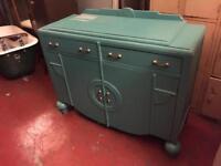 Vintage Art Deco dresser drawers