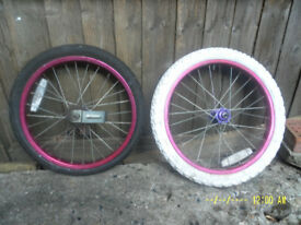 Childs Cycle Wheels 18 ins(18x195)
