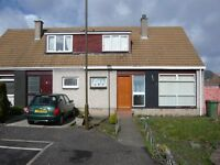 2 Bedroom, semi detached house with garden in Stoneybank, Musselburgh. Available from mid July.
