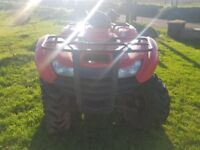 Honda 420 farm quad 08