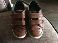 Next Toddler Boys Brown Brogues Shoes Size 7