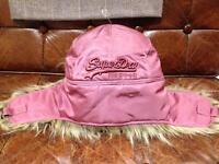 Superdry Ladies Trapper Hat BNWT