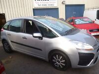 Citroen C4 PICASSO SX HDI,new shape 5 dr hatchback,FSH,1 previous owner,2 keys,runs and drives well