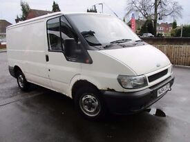2004 54 Ford Transit 2.0 TDCi 280 SWB (ExecAir pack) Panel Van 4dr (SWB) LONG MOT GOOD DRIVE CHEAP