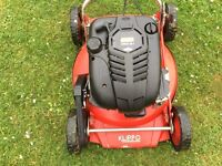 Large petrol mower 21 inch muncher front wheel self propelled
