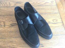 AllSaints Aspect Shoe Black UK 10 EUR 44