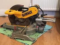 Dewalt dw718-lx double bevel chop saw mitre