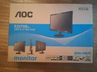AOC 21.5 inch LED Monitor in Perfect Condition!
