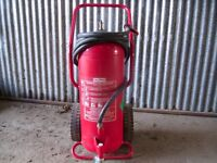 An unused Gloria 50kg fire extinguiser, could be converted into a shot/ sand blaster