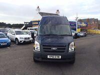 2011 FORD TRANSIT 115 T350L RWD BLUE
