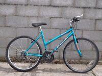 ladies bike blue apollo 26''