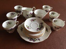 21 piece vintage Duchess tea service