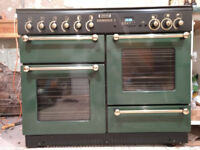Leisure Rangemaster 110 Gas Range with Electric Warmer