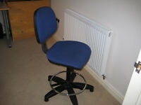 drawing office swivel chair,unmarked and in perfect condition