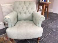Gorgeous Laura Ashley buttoned Alberton armchair - extremely comfortable - £75 O.N.O