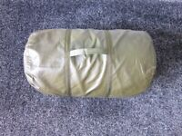 MILITARY ARCTIC DOWN SLEEPING BAG, HARD TO FIND IN THIS CONDITION.