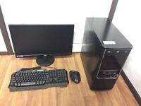 Gaming Computer PC, Setup with 22 inch Monitor (Intel i5 2310, 8GB RAM, 320GB HD, GTX 950 Graphics)